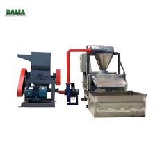 Scrap Cable Recycling Machine , Copper Wire Granulator With Belt Conveyor