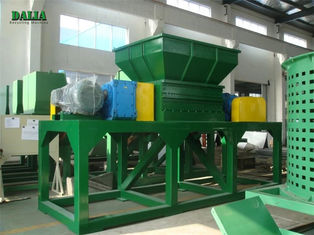 PE PP Plastic Pipe Wood Pallet Shredder Microcomputer Automatic Control